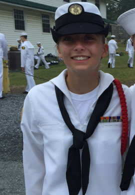 McGill, Colley Build Leadership and Careers as Sea Cadets