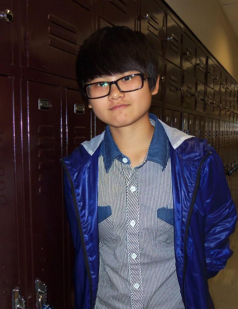 Man-Ling Huang is a foreign exchange student visiting from Taiwan.