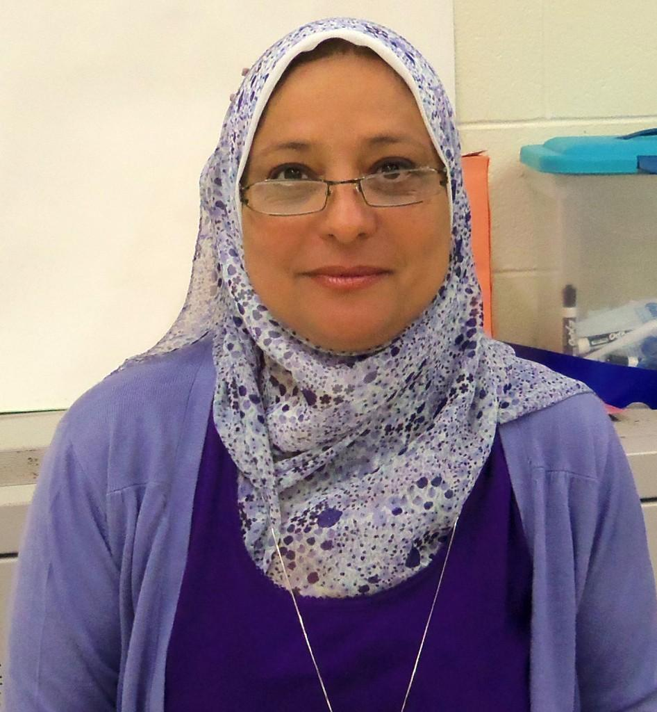 Ms. Gawdet, a principal at her home school in Egypt, is teaching Arabic at Southern Lehigh this year.