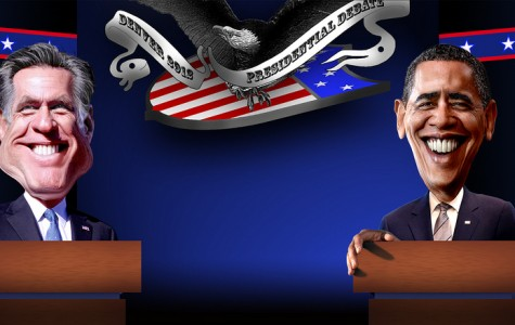 Republican challenger Mitt Romney and Democratic incumbent Barack Obama faced off in Denver on for the first of three presidential election debates.