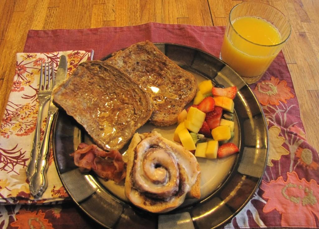 An example of a tasty breakfast.