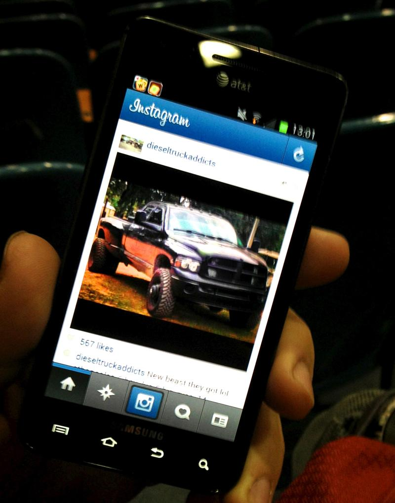 Instagram is a great way to keep up with friends through pictures.