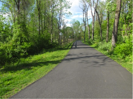 The Rail Trail will extend through Coopersburg.