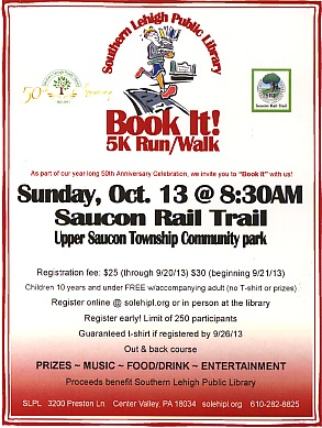 Public Library Hosts First-Ever 'Book It 5k'