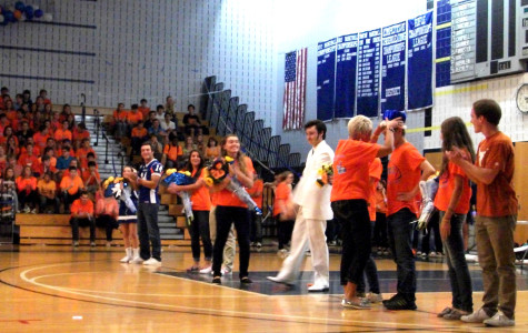 Homecoming Week Brings New Mascot, New Hosts, New Pep Rally