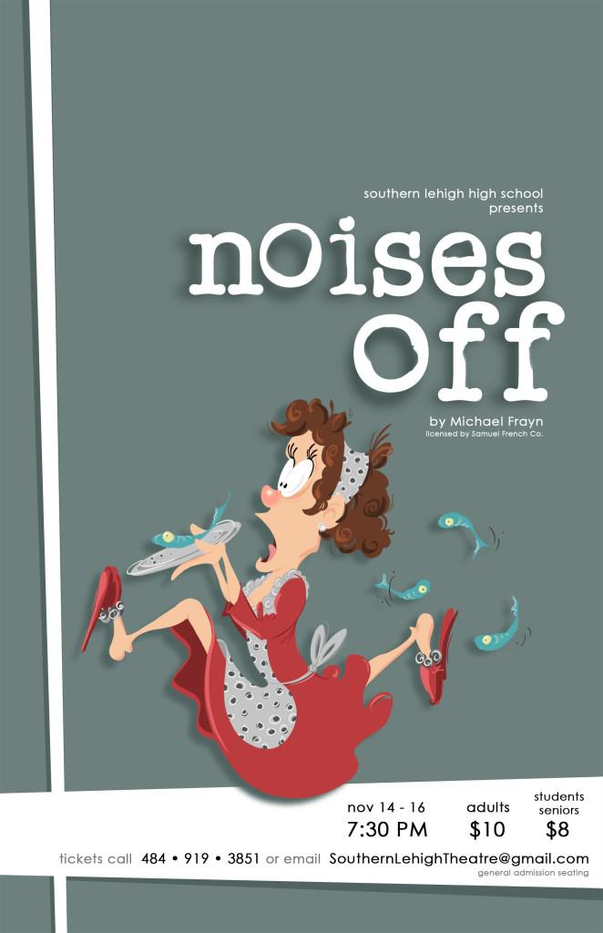 Fall Play 'Noises Off' Comes to the SLHS Stage