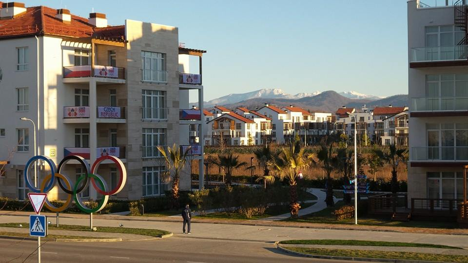 The Olympic Village in Sochi is the two-week home for hundreds of Olympians.