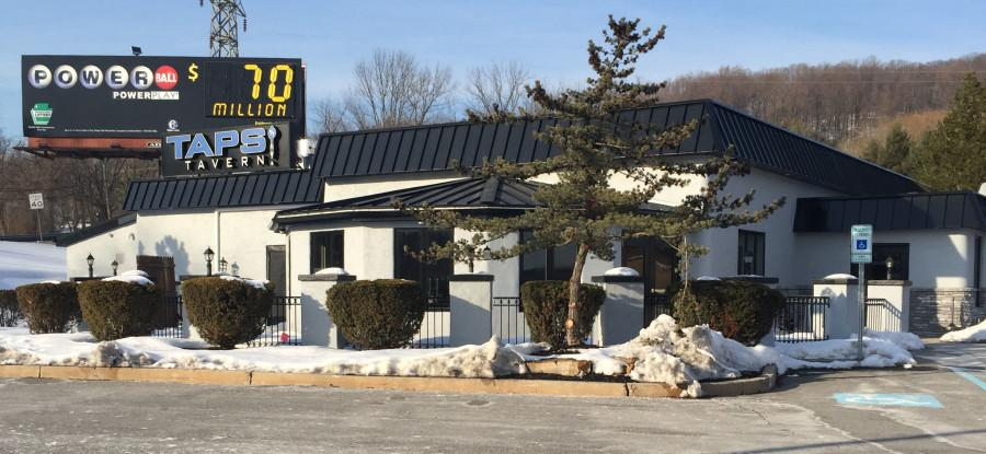 The brand new Taps Tavern located along Route 378