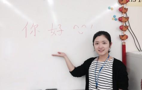 """SL Says """"Ni Hao"""" to Ms. Zhang"""