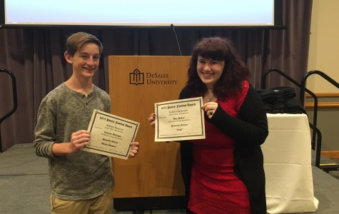 SL Students Receive Honorable Mentions at DeSales Poetry Festival