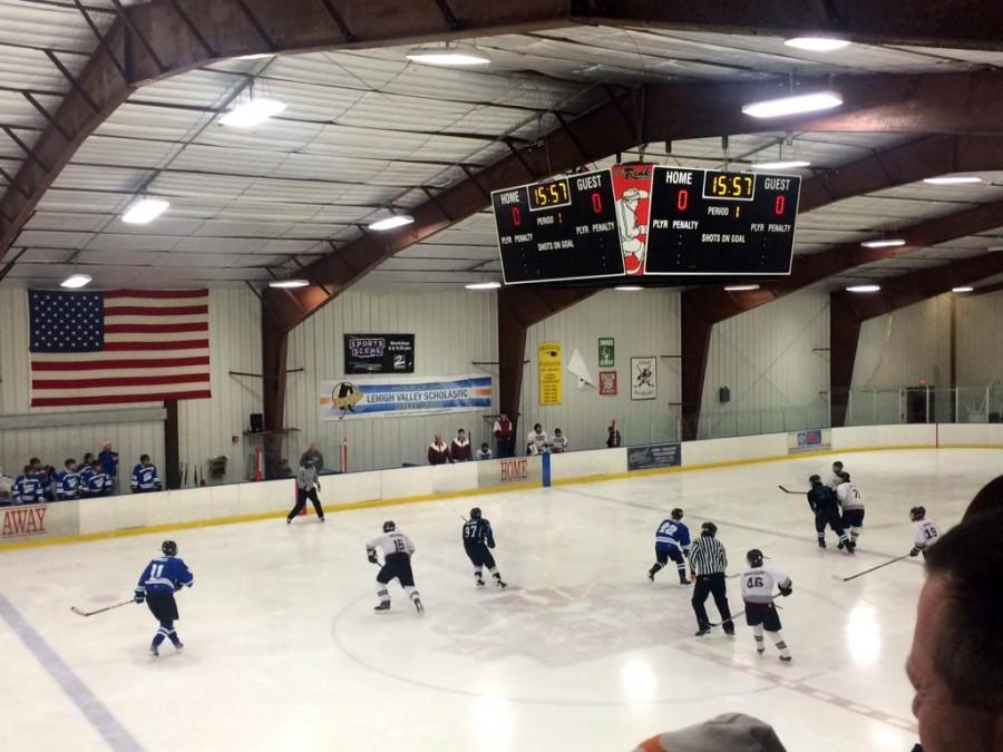 The Spartan's last in-season game was played against Phillipsburg at The Rink at Lehigh Valley.
