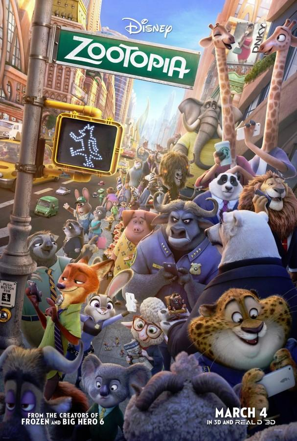 Zootopia is a popular recent movie release by Disney.