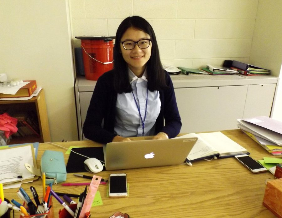 Say 'Ni Hao' to New Chinese Exchange Teacher Ms. Dong Wen