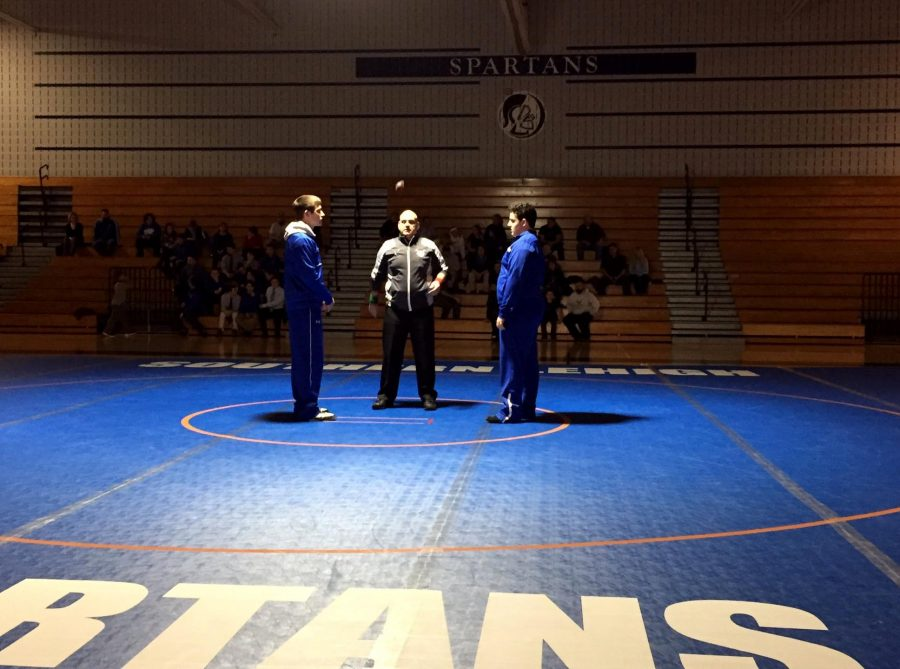 Southern Lehigh lost to Palmerton 48-15 in their first match of the season.