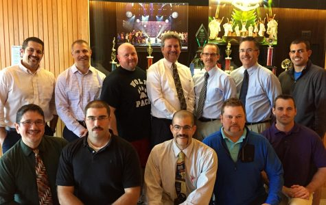 Male Staff Members Grow Mustaches for Men's Health