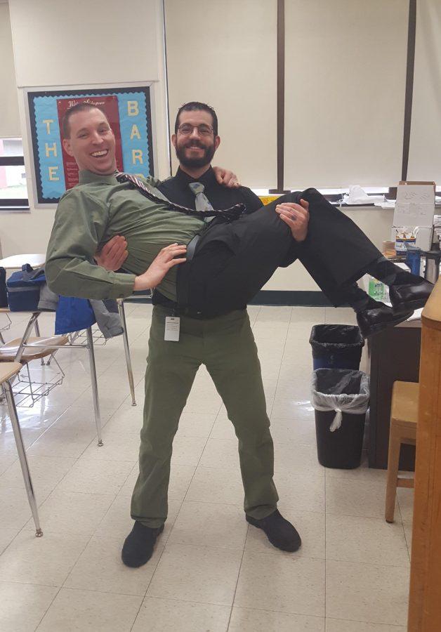 Bromances and Womances: Mr. Ryan Haupt and  Mr. Joseph Castagna