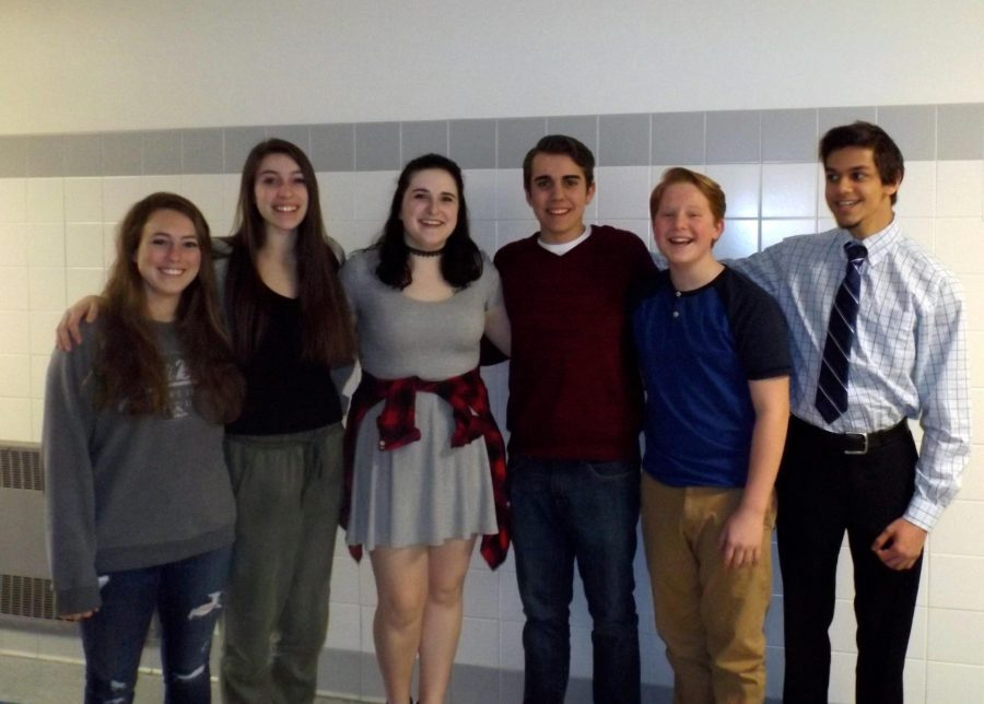 Six Vocalists Advance to PMEA District Chorus
