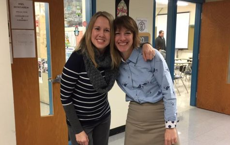 Bromances and Womances:  Mrs. Sheryl Ciotti and Mrs. Kelly Howsare