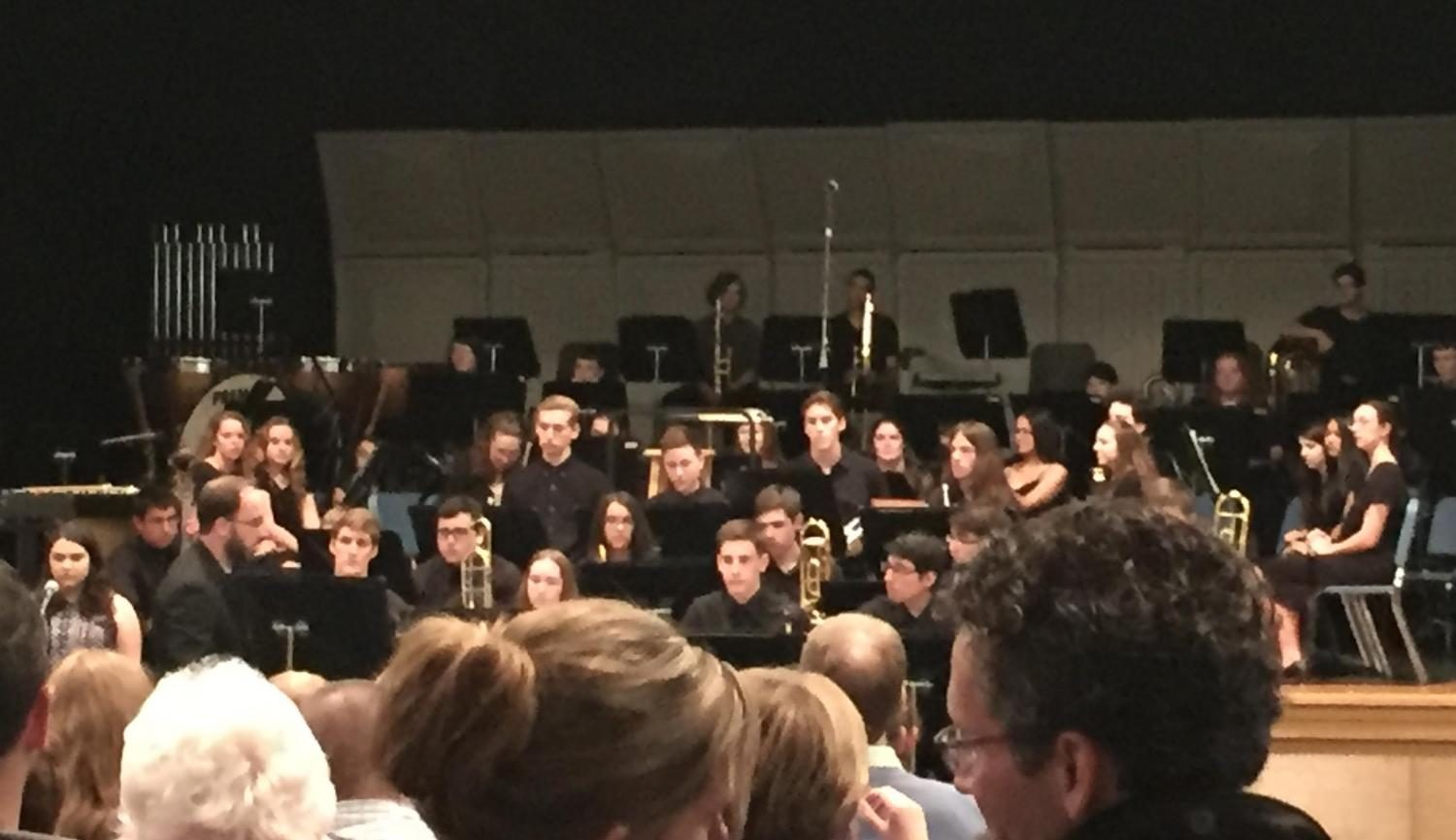 Southern Lehigh Bands Perform at Spring Concert