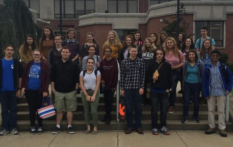 Southern Lehigh students participate in DeSales University's poetry festival.