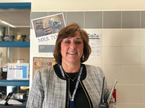New Principal Mrs. Guarriello Returns to SLHS
