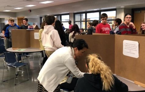 JSA Members Hold Mock Midterm Election