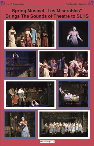 "Spring Musical ""Les Miserables"" Brings the Sounds of Theatre to SLHS"