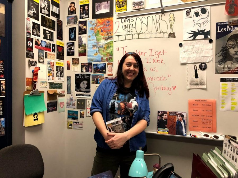 Mrs. Lauren Tocci is known throughout SLHS as being absolutely obsessed with all things film.