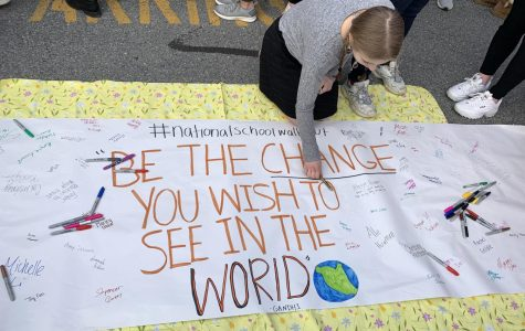 National School Walkout Rallies Southern Lehigh Students Against Gun Violence