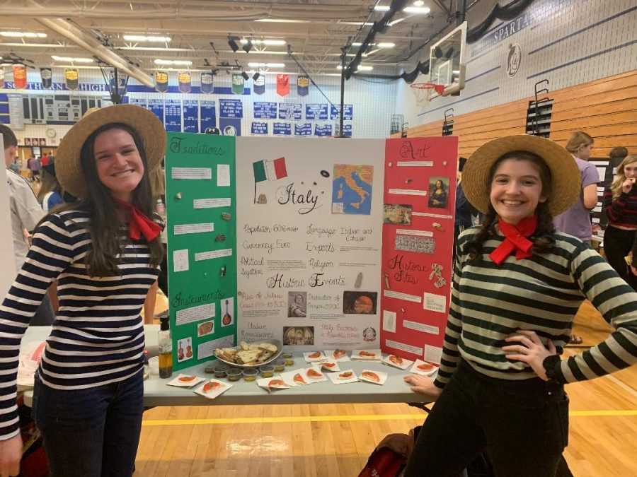 Students Offer Unique Regional Perspectives at Culture Fair