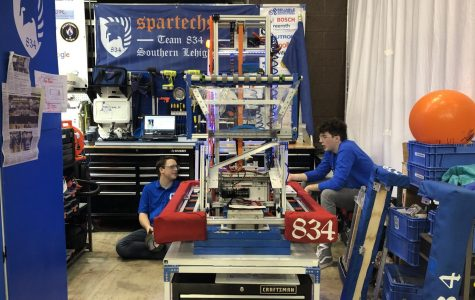 Spartechs Build Successful Robotics Season
