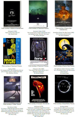 Teachers Share Favorite Halloween Movies