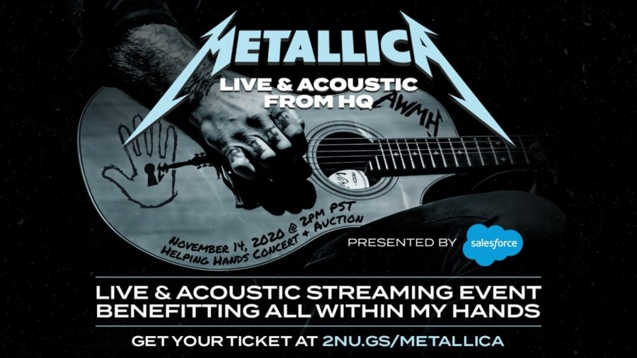 Metallica's live virtual performance reached viewers around the globe.