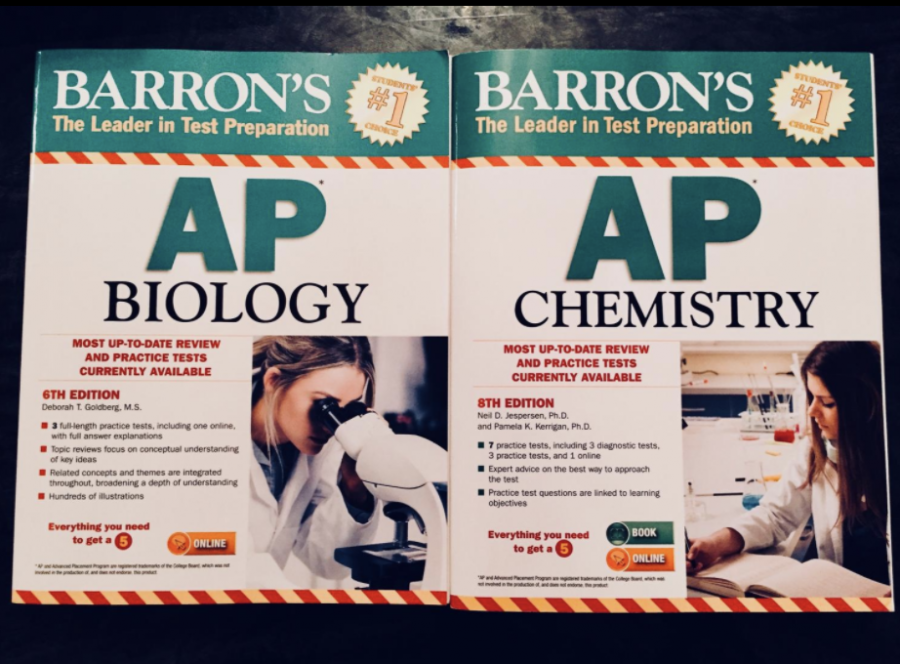 Two credit Chemistry/Biology courses could better prepare students for the AP exam.