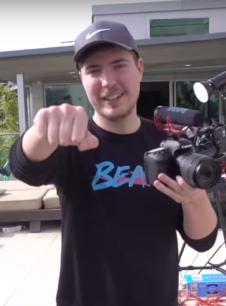 Mr. Beast, a twenty-two year old youtuber, has amounted over fifty-seven million subscribers.