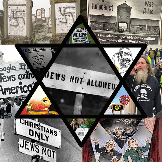 After examples pile up of anti-Semitic fueled expression over the last 70 years, the prejudice and discrimination must end.